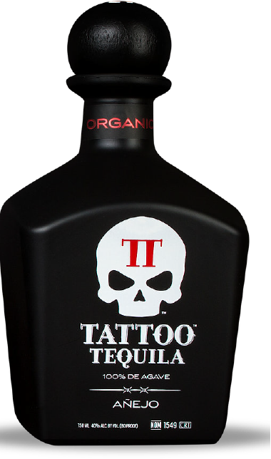 Small Batch Organic Anejo Tequila from Tattoo Tequila