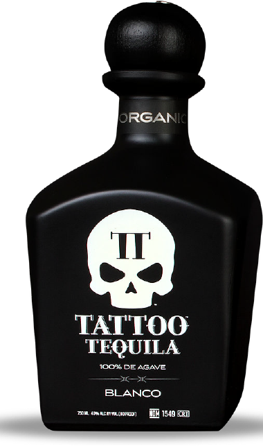 Small Batch Organic Blanco Tequila from Tattoo Tequila