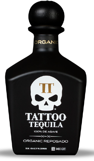 Small Batch Organic Reposado Tequila from Tattoo Tequila