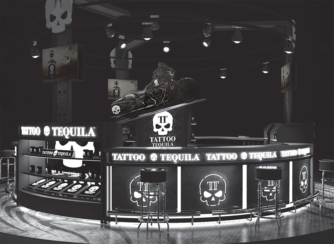 Front of Tattoo Tequila Bar