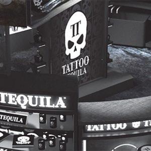 Overhead Shot of Tattoo Tequila Bar