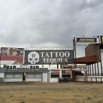 Tattoo Tequila banner at the Buffalo Chip
