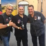 Tequila John Atanasio and friend in Lucca, Italy