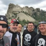 Tequila John and friends at Mount Rushmore