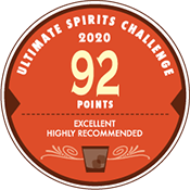 92 Points in the Ultimate Spirits Challenge